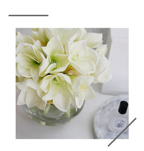 Vicky Yao Faux Floral -  Exclusive Design Hippeastrum Floral Arrangement