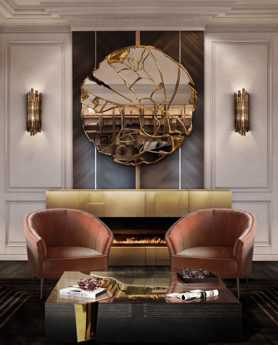 Vicky Yao Wall Decor - Exclusive Design Luxury Artist's Decorative Mirror Wall Decor