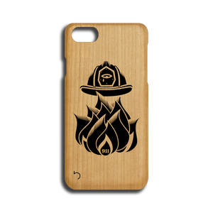 Open image in slideshow, 9/11 - First Responders - Case - iPhone - Wood