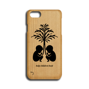 Open image in slideshow, Children - Help Children Heal - Case - iPhone - Wood