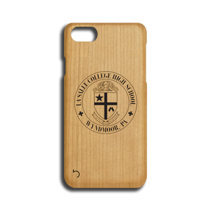 Open image in slideshow, La Salle College High School - Crest - Case - iPhone - Wood