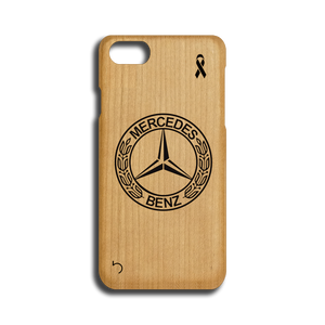 Open image in slideshow, Mercedes Benz - Logo - Case - iPhone - Wood