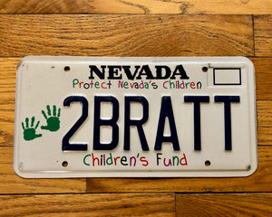 Nevada Specialty/ Vanity License Plate - Protect Nevada's Children