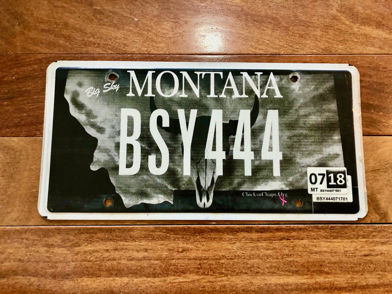 Montana ChicksnChaps License Plate