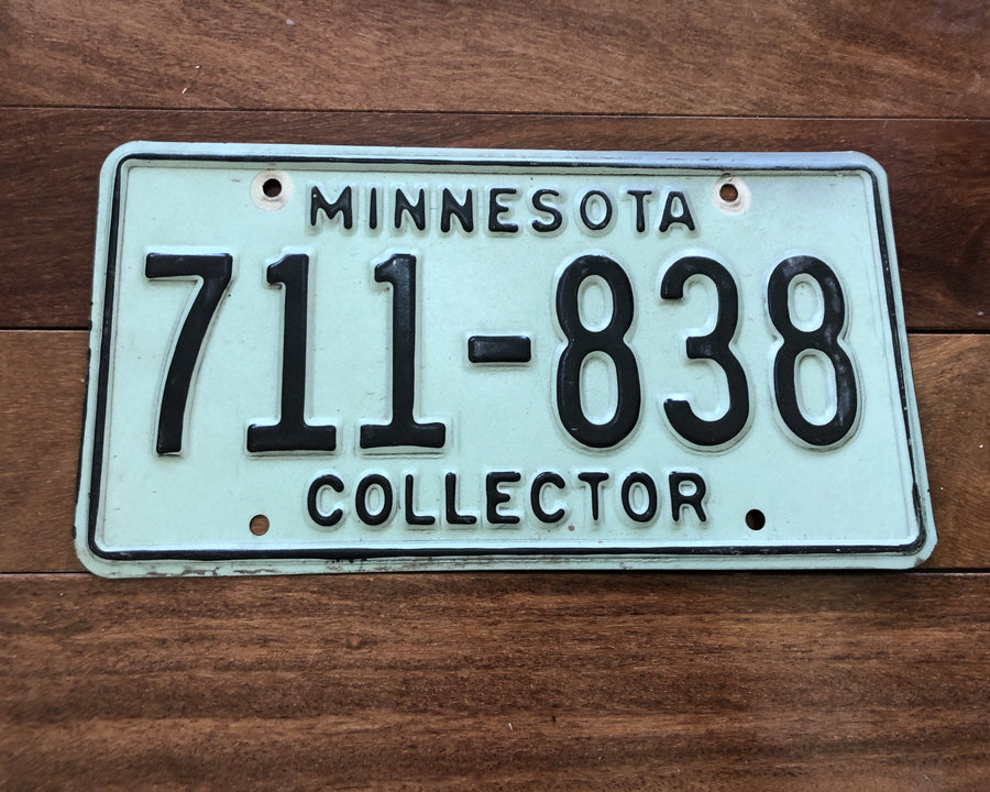 Minnesota Collector License Plate