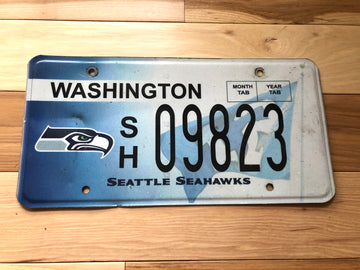 Washington Seattle Seahawks License Plate