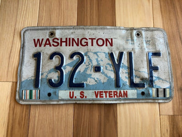 Washington Veteran License Plate