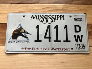 Mississippi The Future of Waterfowl License Plate