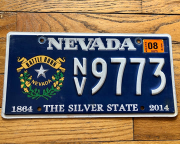 Nevada Battle Born License Plate