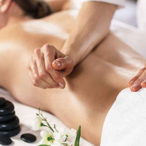 Relaxing massage treatment in Nerja