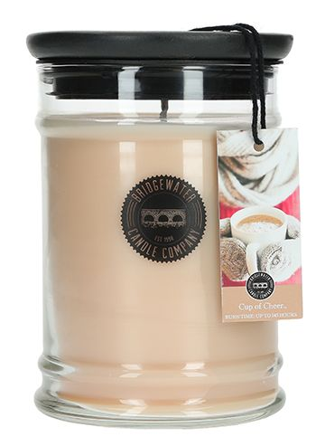 Bridgewater Cup of Cheer Jar Candle - 18oz