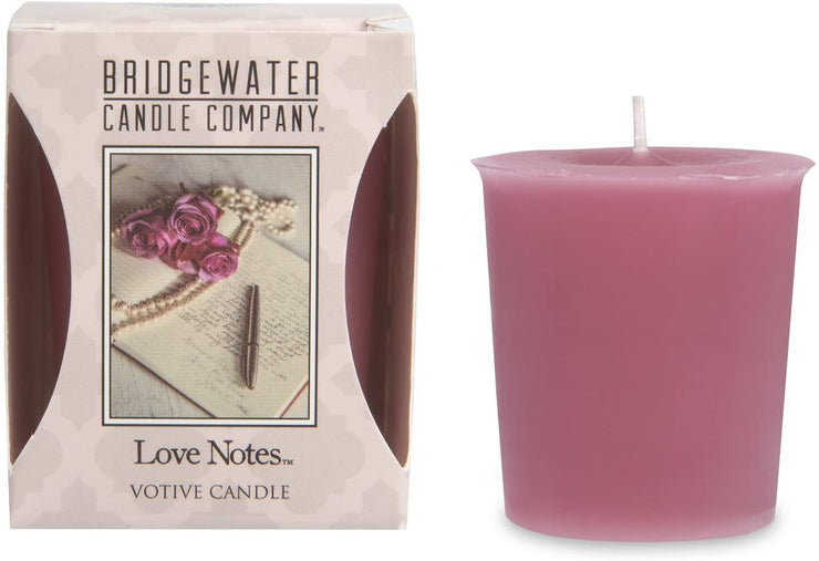 Bridgewater Love Notes Votive Candle