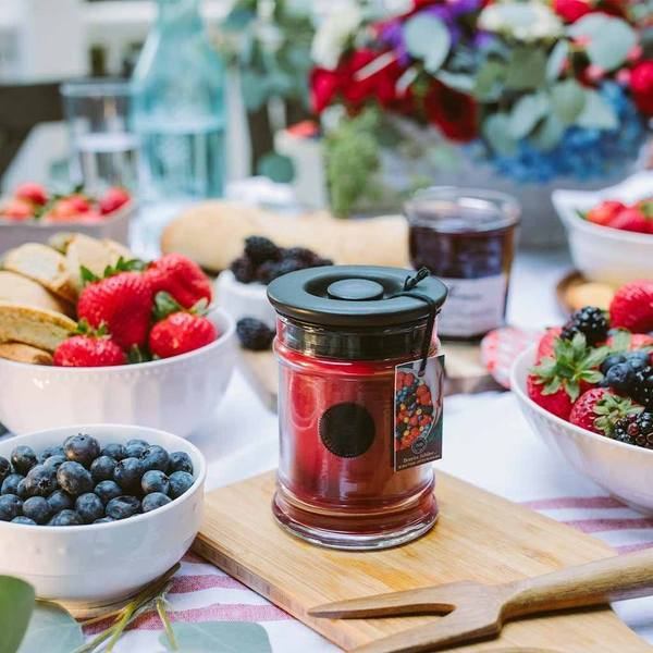 Bridgewater Berries Jubilee Jar Candle - 8oz