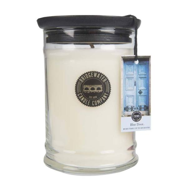 Bridgewater Blue Door Jar Candle - 18oz