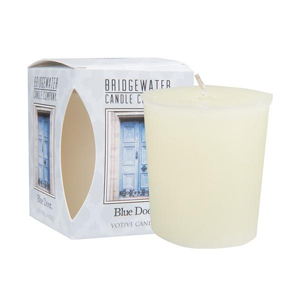 Bridgewater Blue Door Votive Candle