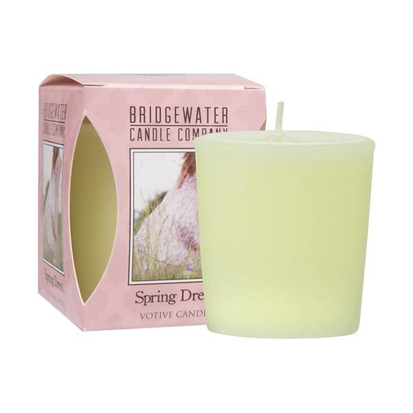 Bridgewater Spring Dress Votive Candle