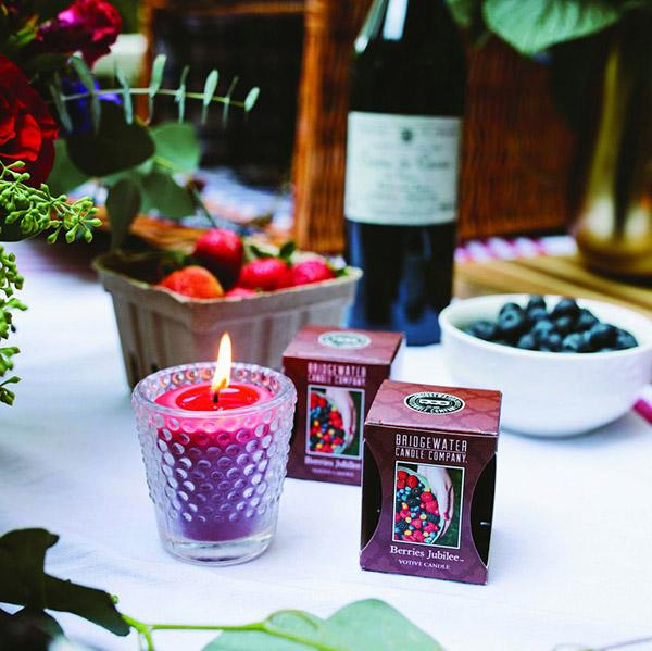 Bridgewater Berries Jubilee Votive Candle