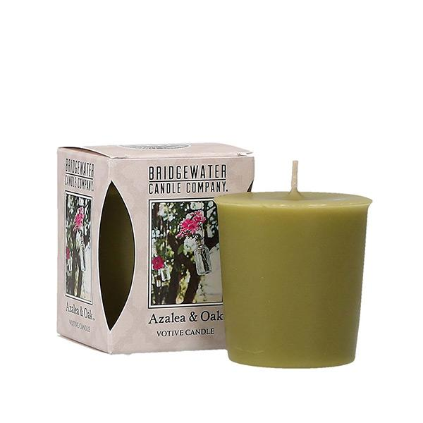 Bridgewater Azalea and Oak Votive Candle