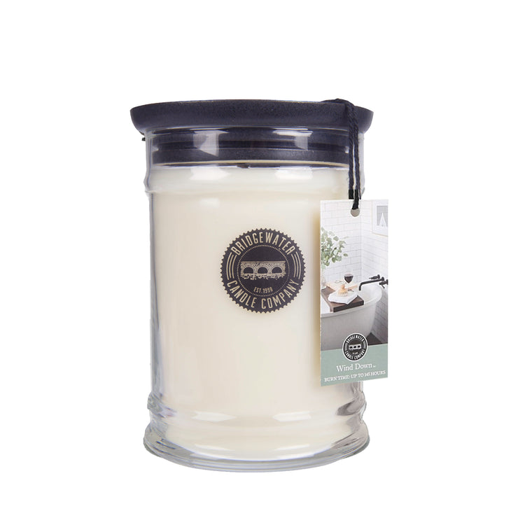 Bridgewater Wind Down Jar Candle - 18oz