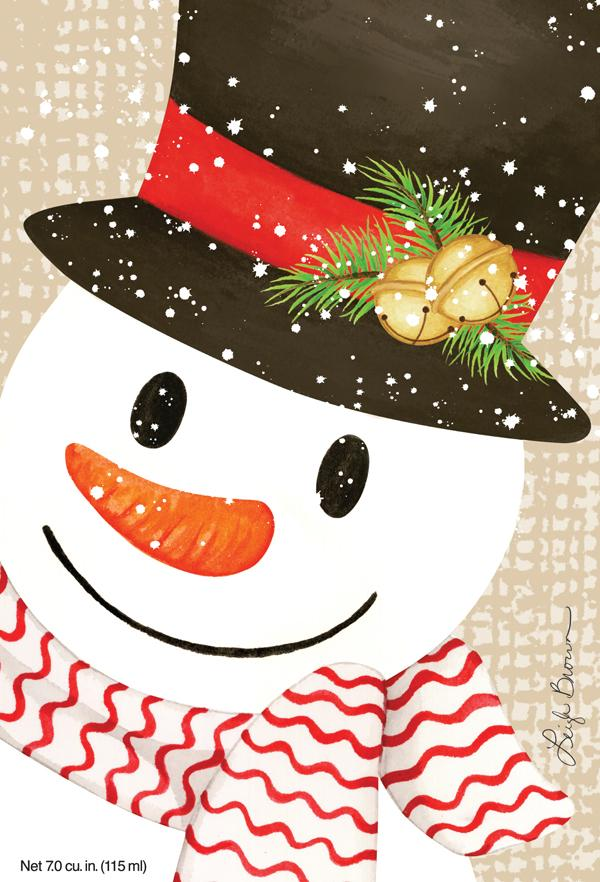 Willowbrook Crafty Snowman Large Scented Sachet