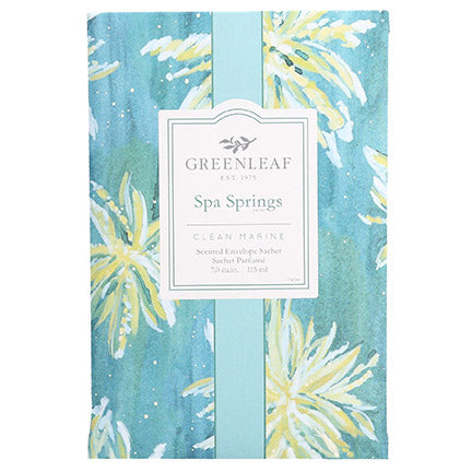 Greenleaf Spa Springs Large Scented Sachet