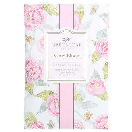 Greenleaf Peony Bloom Large Scented Sachet