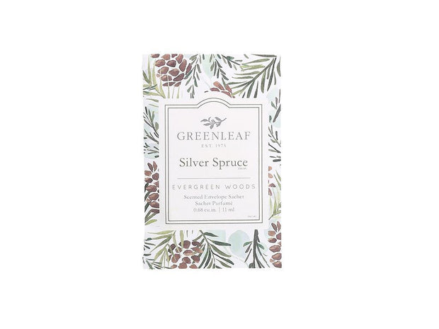 Greenleaf Silver Spruce Small Scented Sachet