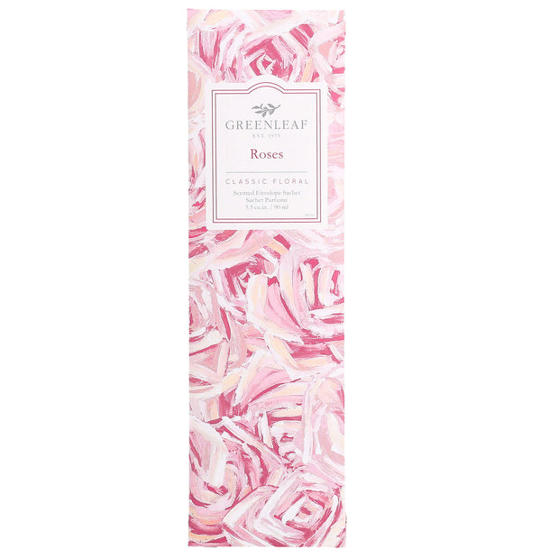 Greenleaf Roses Slim Scented Sachet