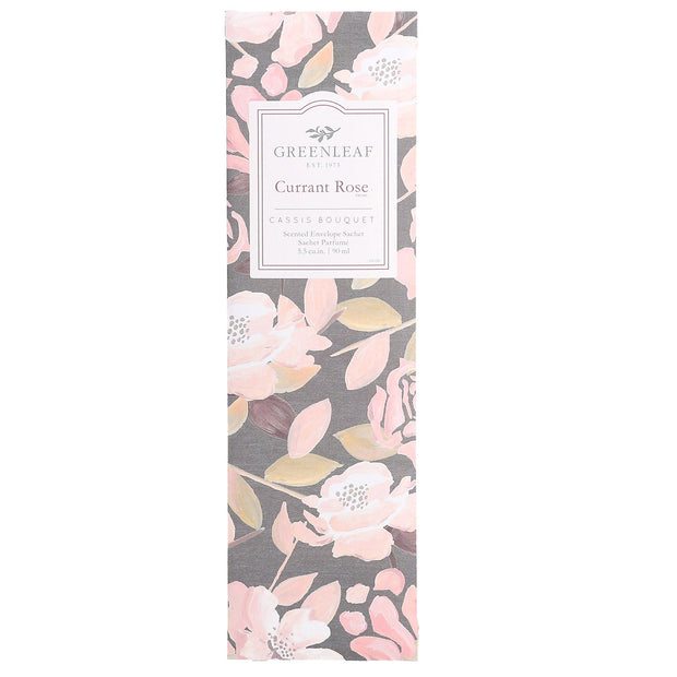 Greenleaf Currant Rose Slim Scented Sachet