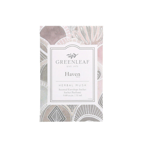 Greenleaf Haven Small Scented Sachet