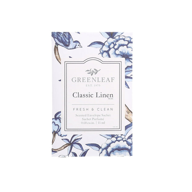 Greenleaf Classic Linen Small Scented Sachet