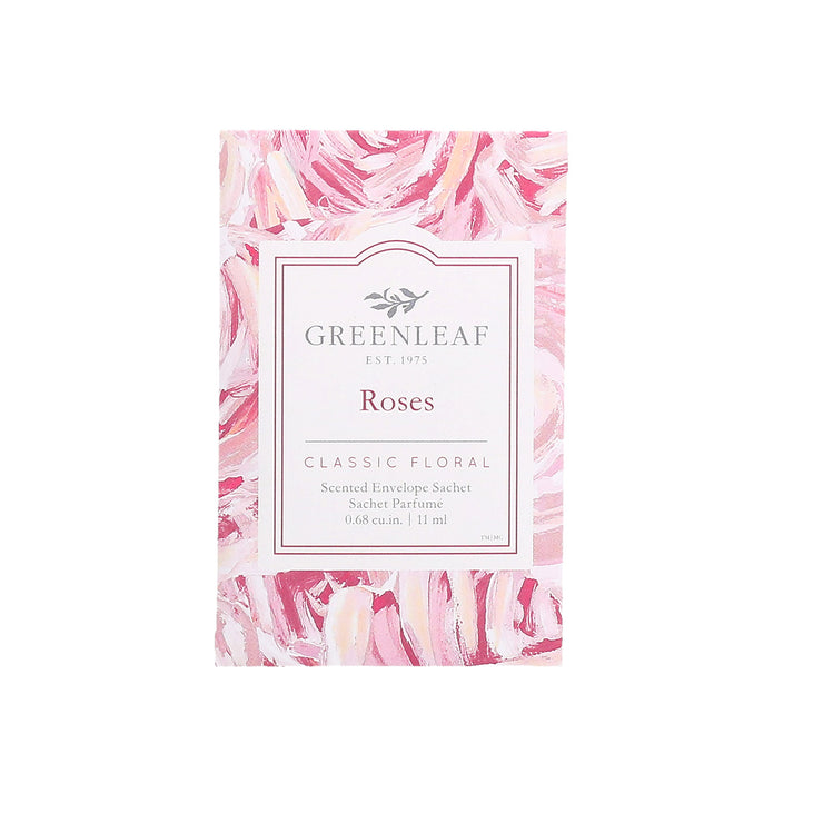 Greenleaf Roses Small Scented Sachet