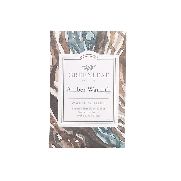 Greenleaf Amber Warmth Small Scented Sachet