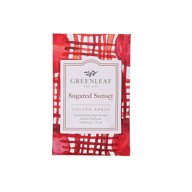 Greenleaf Sugared Sunset Small Scented Sachet