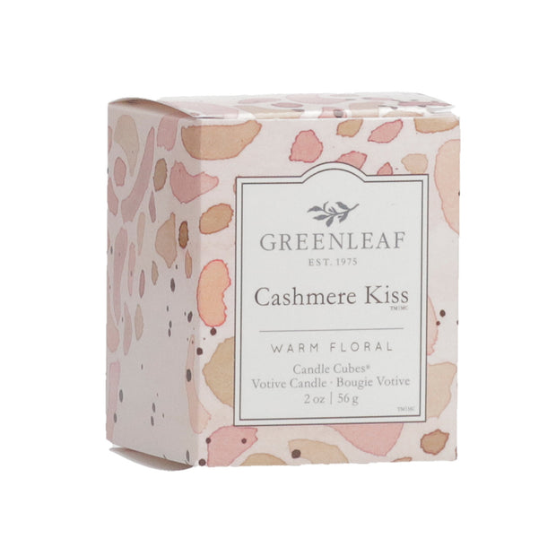 Greenleaf Cashmere Kiss Candle Cube