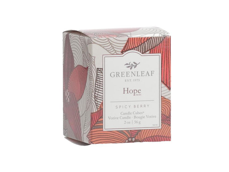 Greenleaf Hope Candle Cube