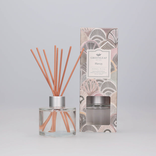 Greenleaf Haven Signature Reed Diffuser