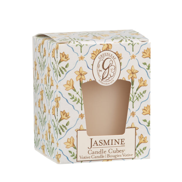 Greenleaf Jasmine Candle Cube - OLD DESIGN