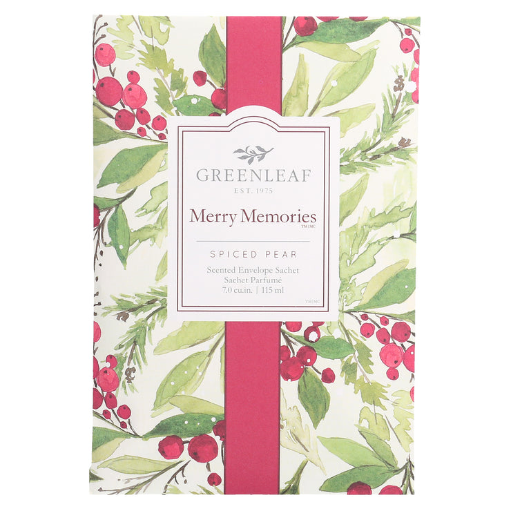 Greenleaf Merry Memories Large Scented Sachet