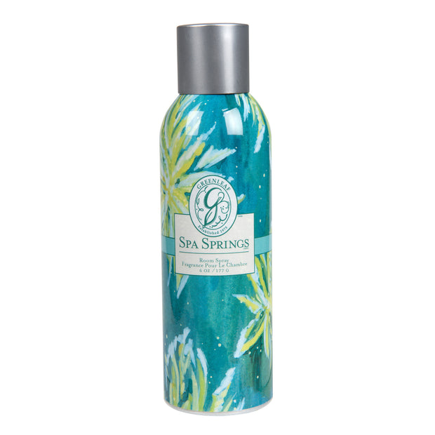 Greenleaf Spa Springs Room Spray OLD DESIGN