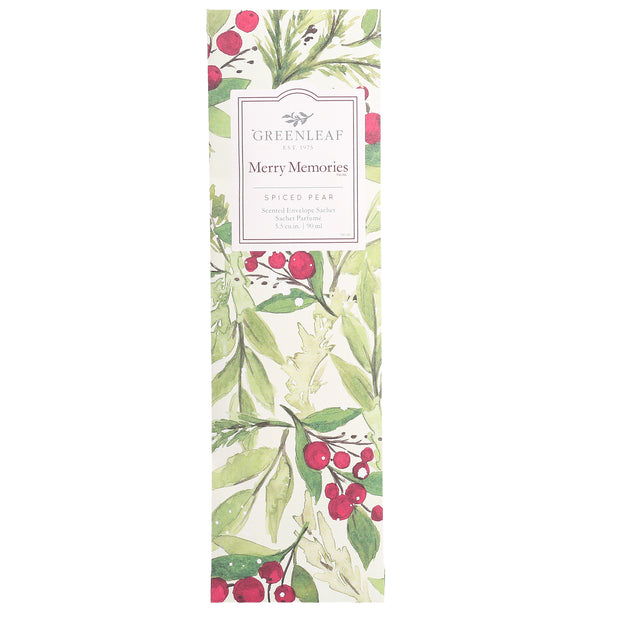 Greenleaf Merry Memories Slim Scented Sachet