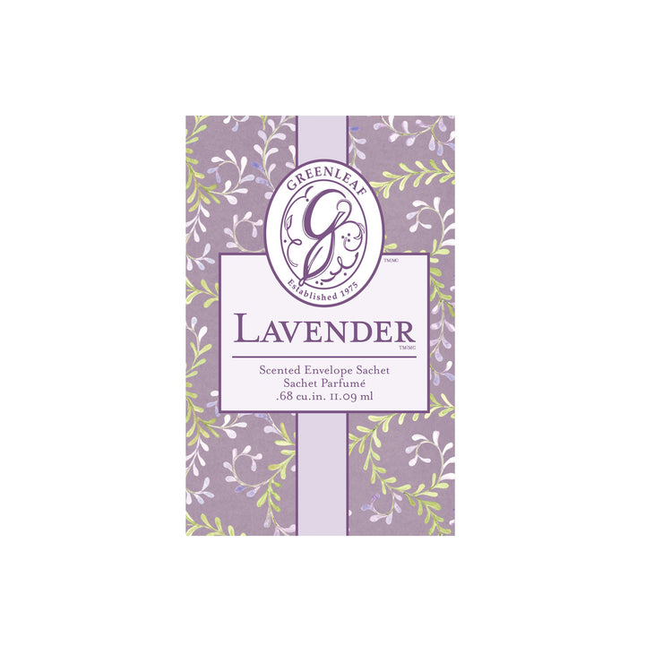 OLD DESIGN Greenleaf Lavender Small Scented Sachet