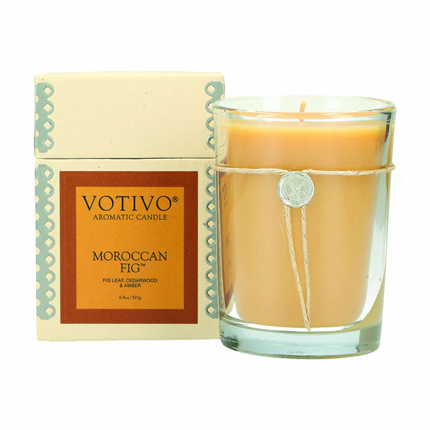 Votivo Moroccan Fig Jar Candle - 6.8oz