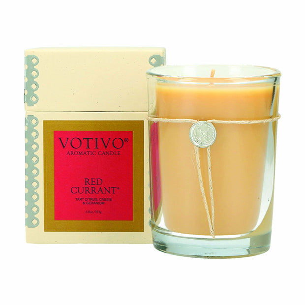 Votivo Red Currant Jar Candle - 6.8oz