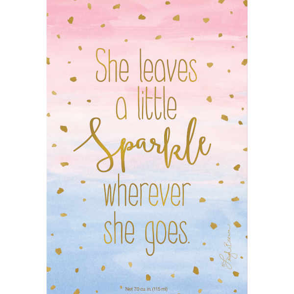 Willowbrook She Leaves a Little Sparkle Large Scented Sachet