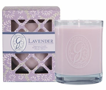 Greenleaf Lavender Signature Candle -OLD DESIGN