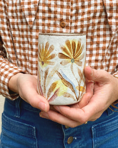 Tall Flower Field Cup
