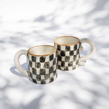 Load image into Gallery viewer, Checkered Mug