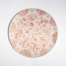 Load image into Gallery viewer, Gardener's Circular Platter in Rose