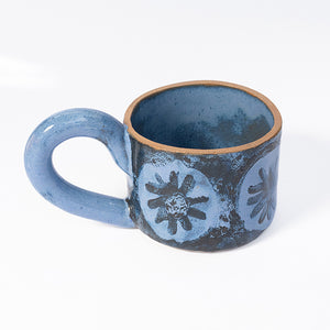 Short Mug in Blue Cornflower